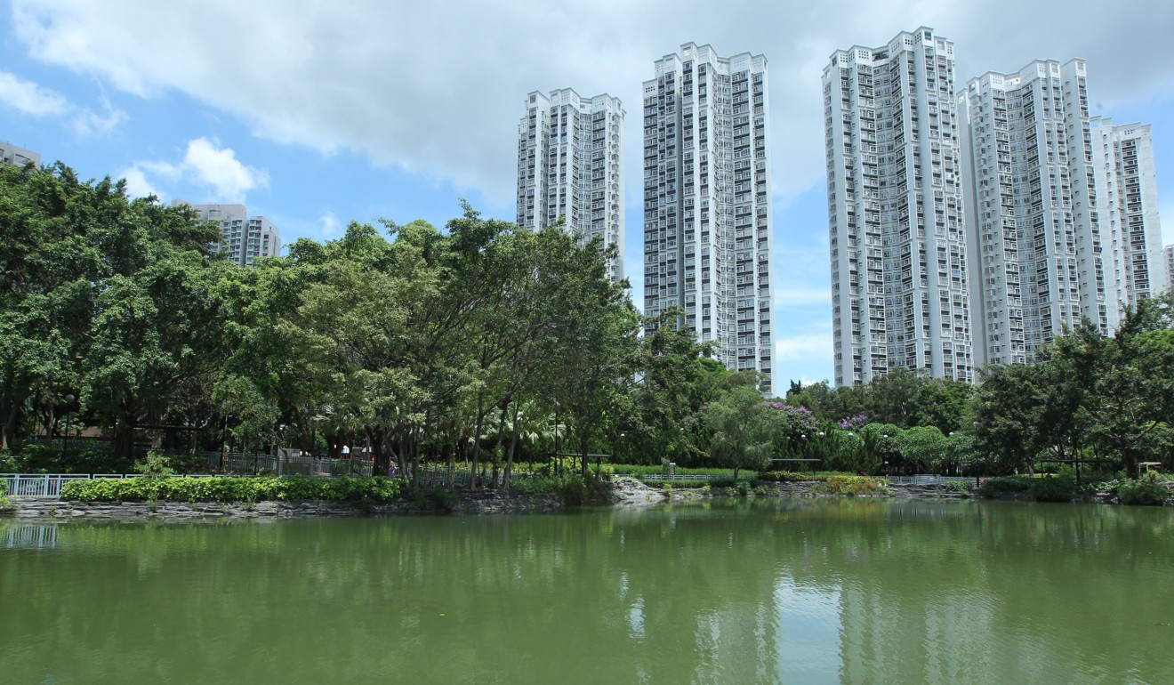 Rents at Kingswood Villas in Tin Shui Wai fell by 2.5 per cent last month. Photo: K. Y. Cheng
