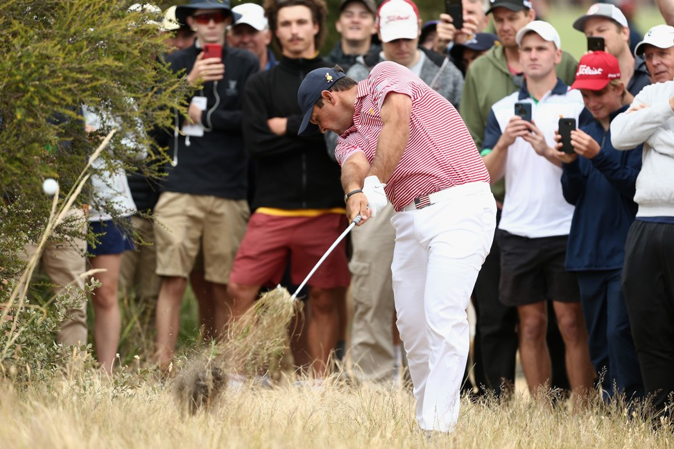 Presidents Cup: Patrick Reed hears the hecklers early as US struggle in Melbourne
