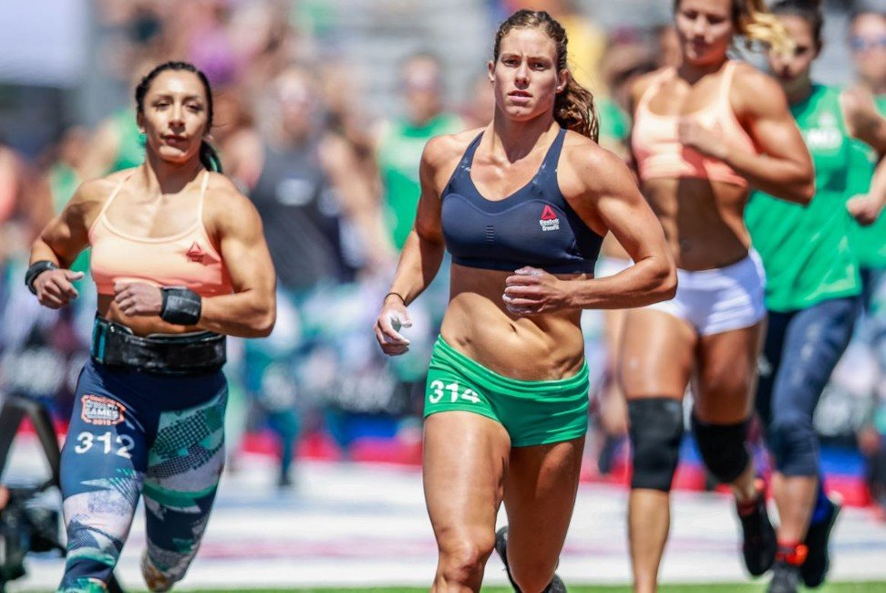 Emily Rolfe at the 2019 CrossFit Games. Photo: CrossFit Games