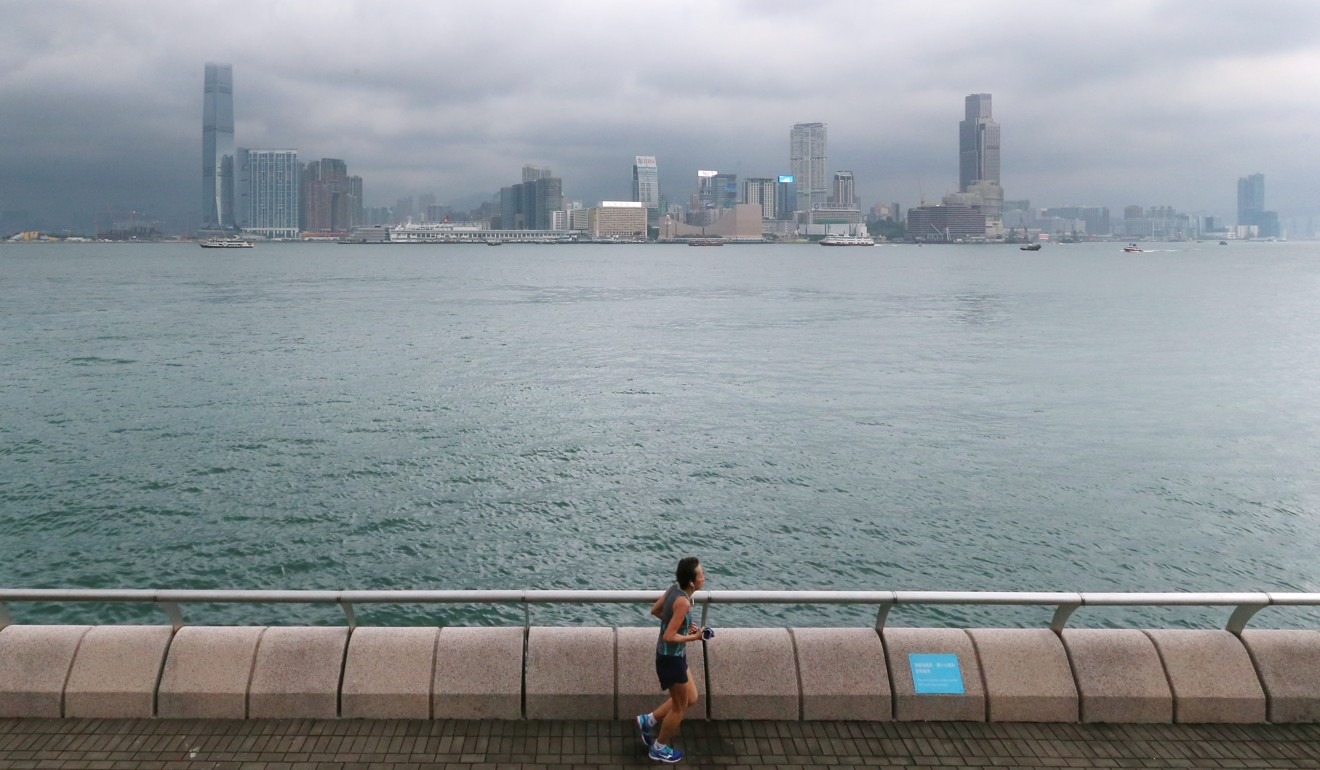 Hong Kong's coasts offers great road running routes. Photo: K.Y. Cheng