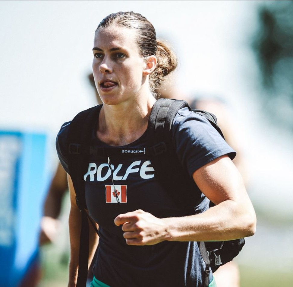 Rolfe said working with a mental coach has helped her take her CrossFit game to the next level. Photo: CrossFit Games