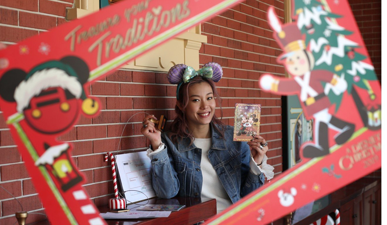 Olympic swimmer Stephanie Au spreads festive joy with charity postcards from Hong Kong Disneyland