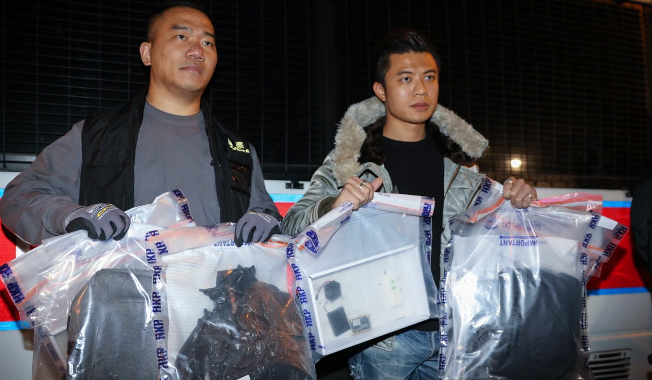 Hong Kong's revolution is sliding into terrorism with home-made bombs primed to kill and maim