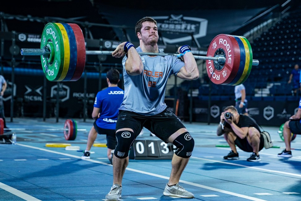 Adler looks to be one of the rising young stars of the CrossFit world. Photo: Dubai CrossFit Championship