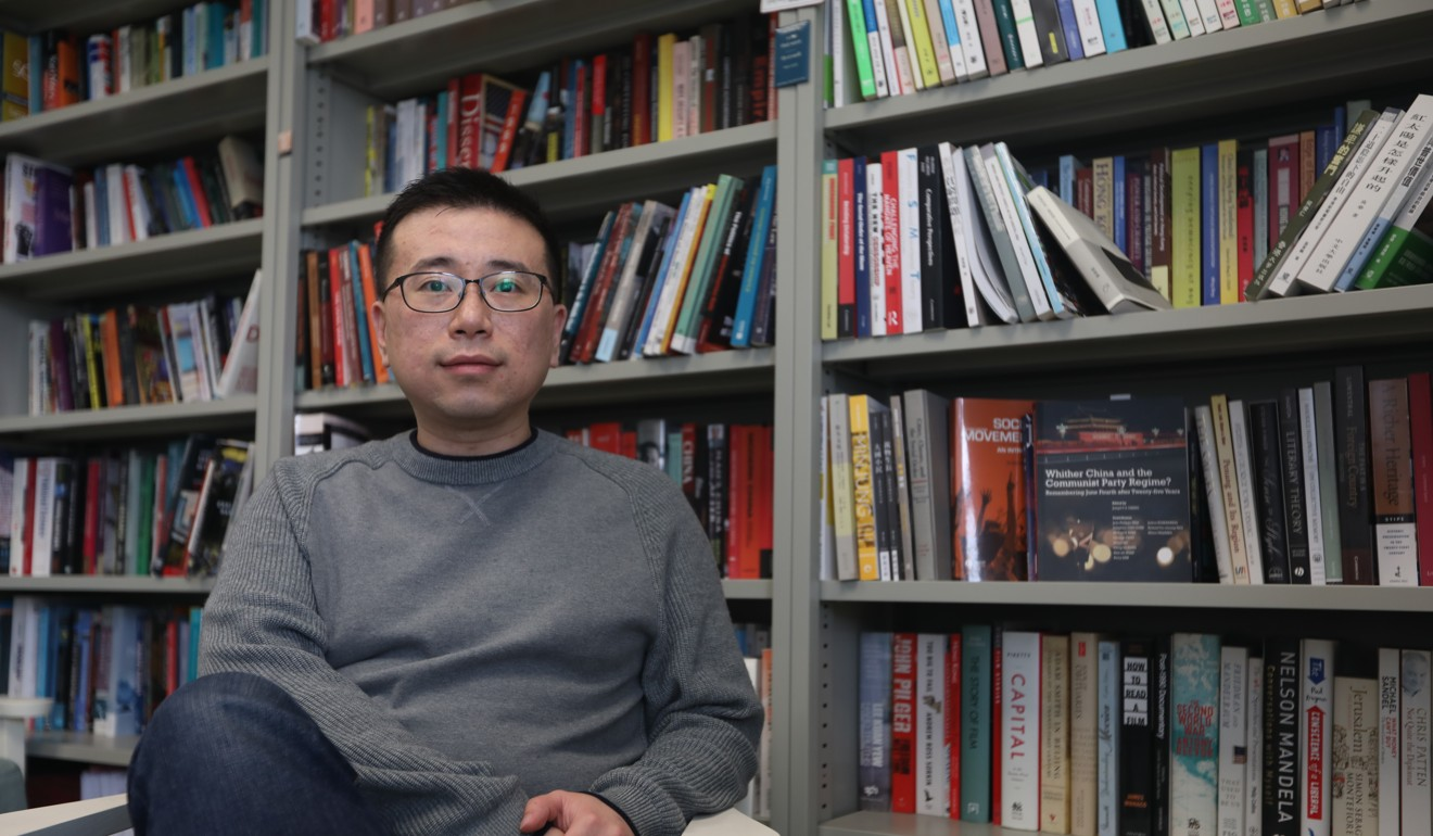 Edmund Cheng Wai said the protest movement had evolved. Photo: Xiaomei Chen