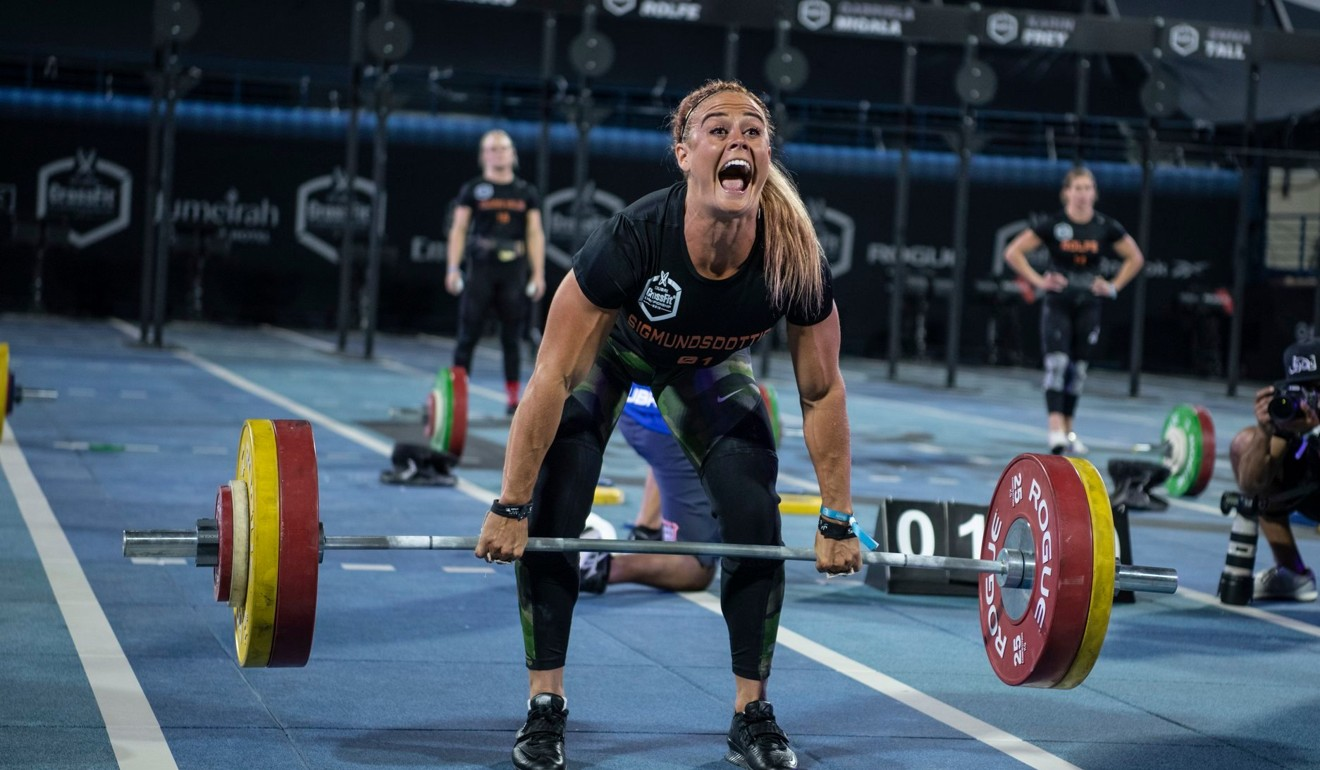 Sigmundsdottir gave the fans a show in Dubai as she won two events of 11. Photo: Dubai CrossFit Championship