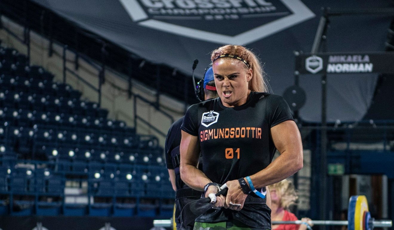 Sara Sigmundsdottir usually had a smile on her face in Dubai. Photo: Dubai CrossFit Championship