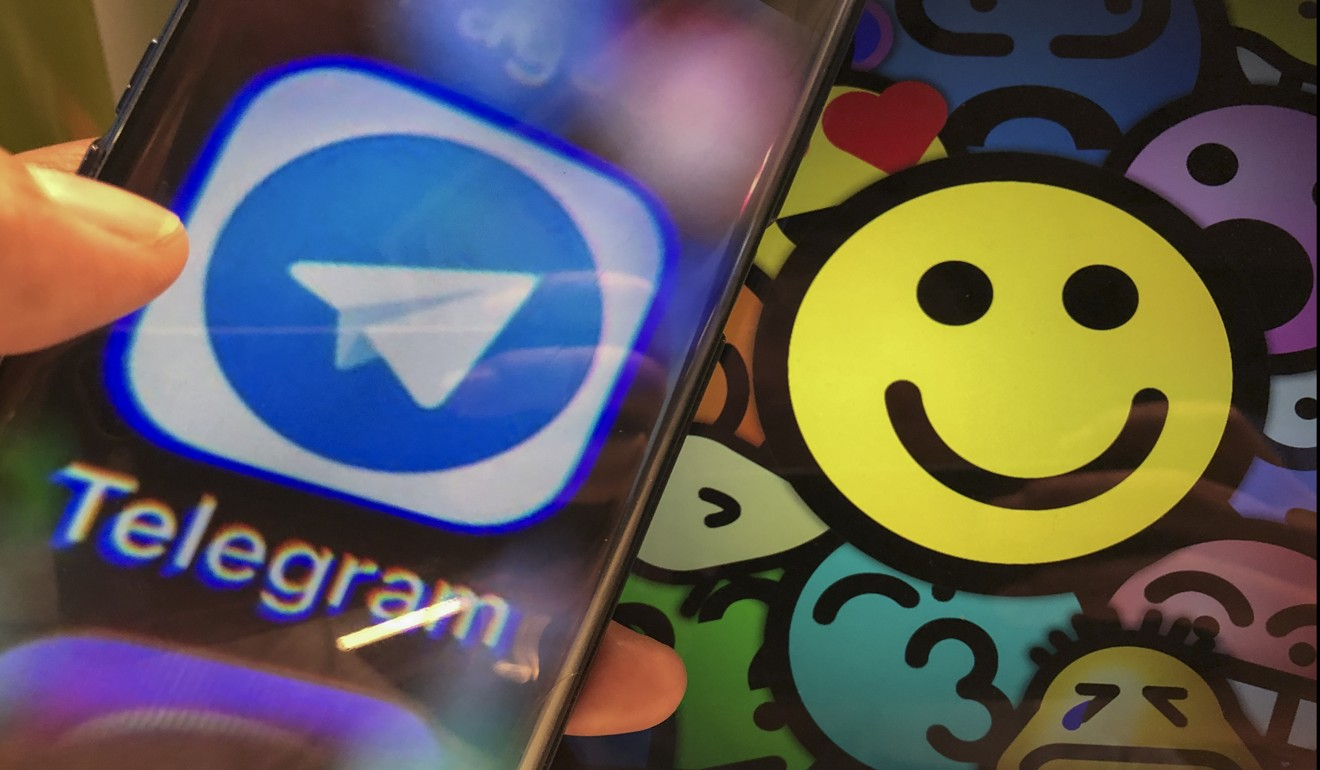 Protesters have been using the Telegram app to coordinate rallies, and offer help to those that need it. Photo: SCMP