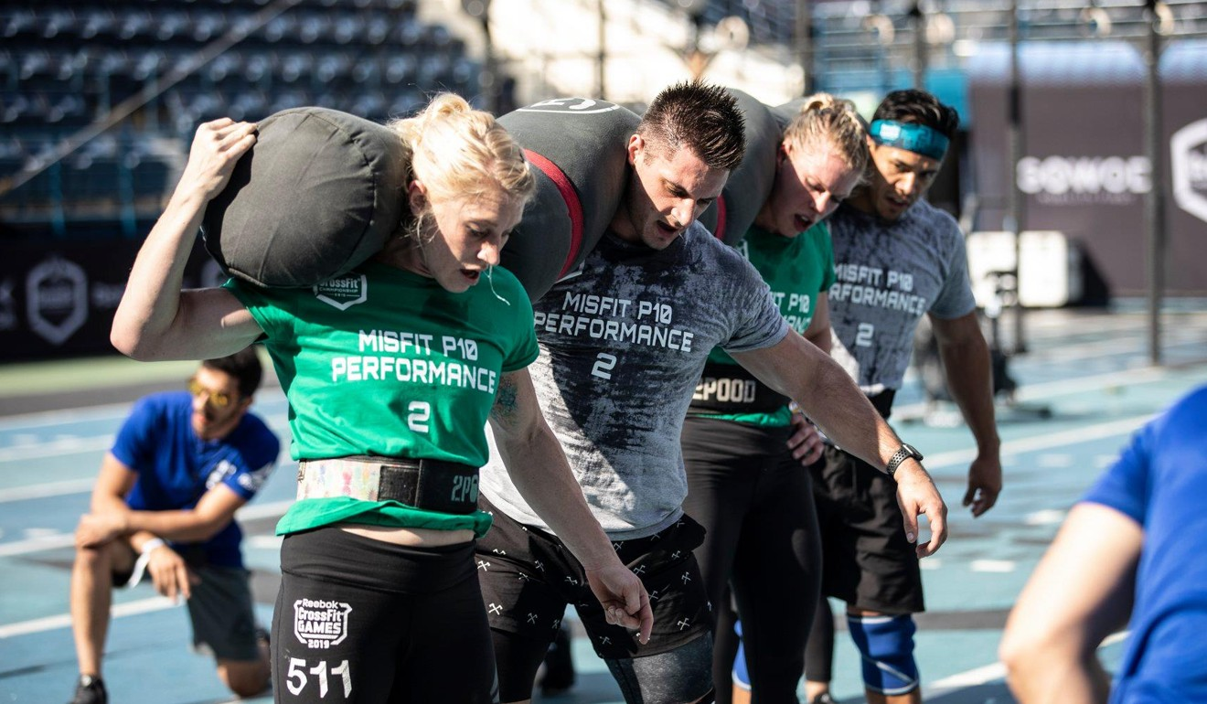Misft P10 Performance were born out of a CrossFit Games after party. Photo: Dubai CrossFit Championship