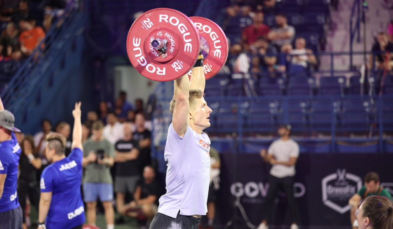 Fikowski will now head to the West Coast Classic. Adnan Karimjee/Dubai CrossFit Championship