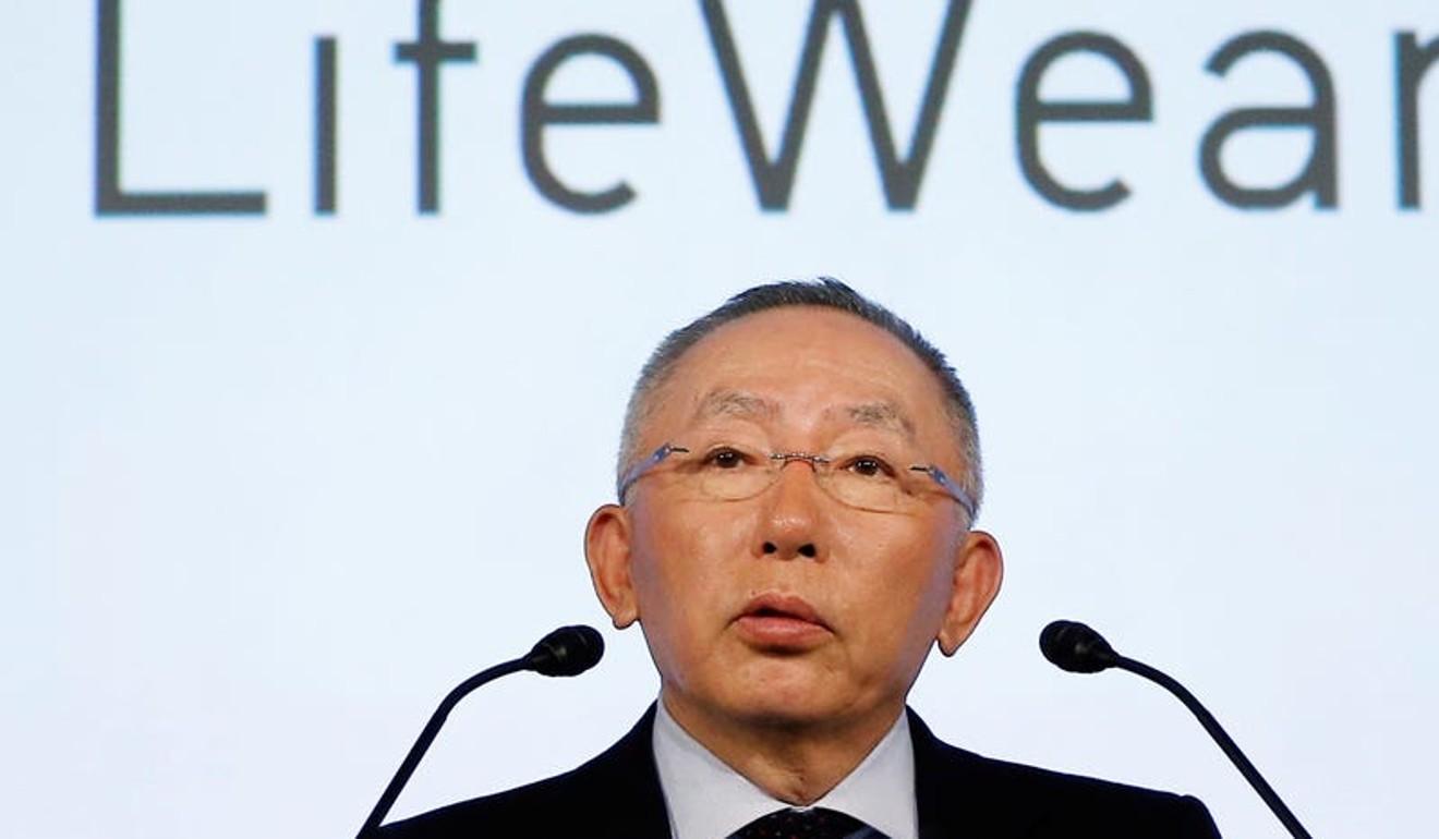 Tadashi Yanai. Ảnh: Reuters