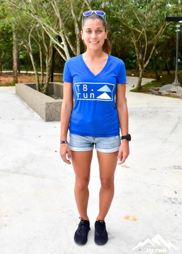 Verronika Vadovicova, winner of the Asia Trail Master 2019. Photo: ITR Run