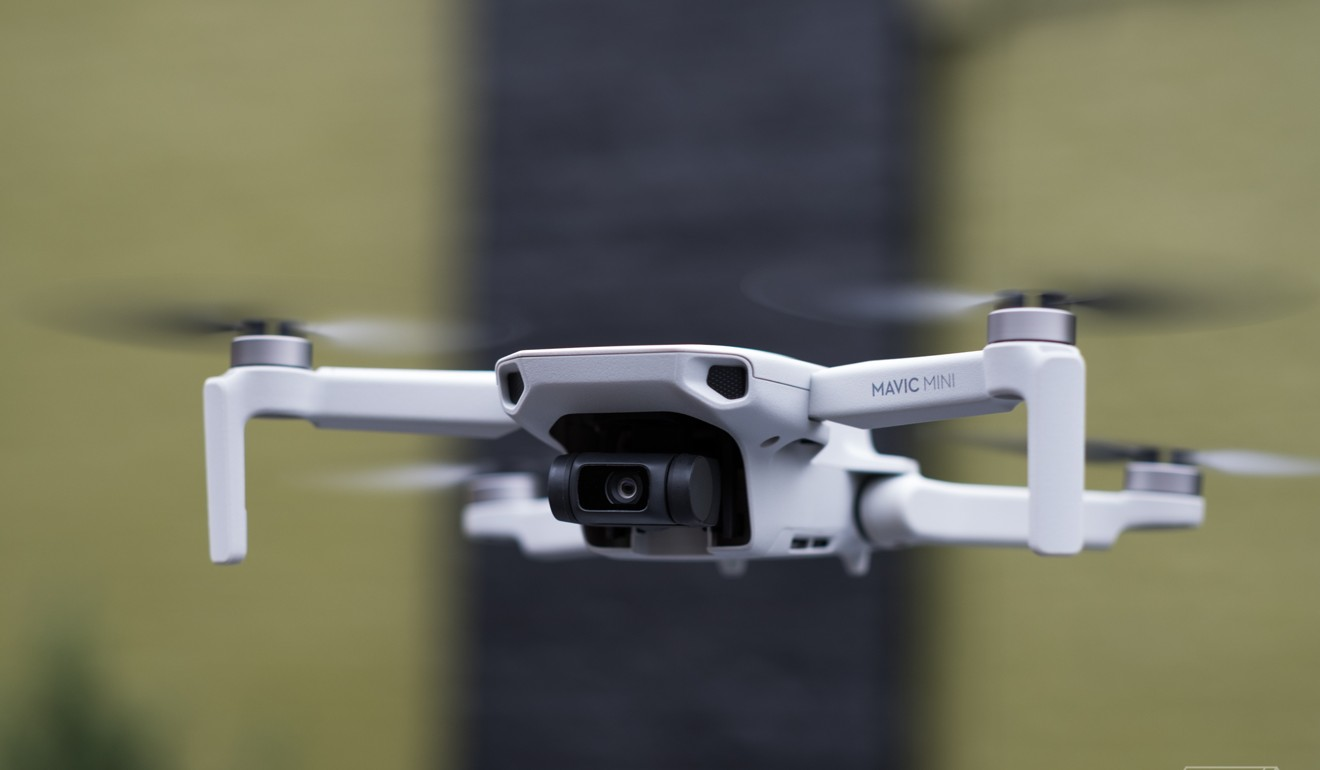 DJI's Mavic Mini drone is a market leader. Photo: Handout