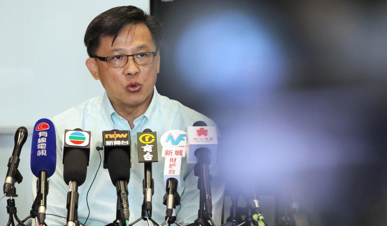 Controversial lawmaker Junius Ho.