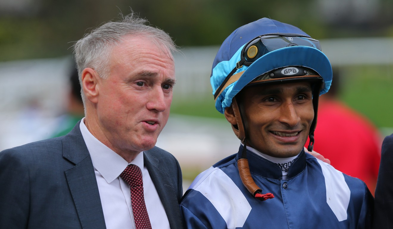 Trainer Paul O'Sullivan and jockey Karis Teetan team up with Band Of Brothers on Thursday night.