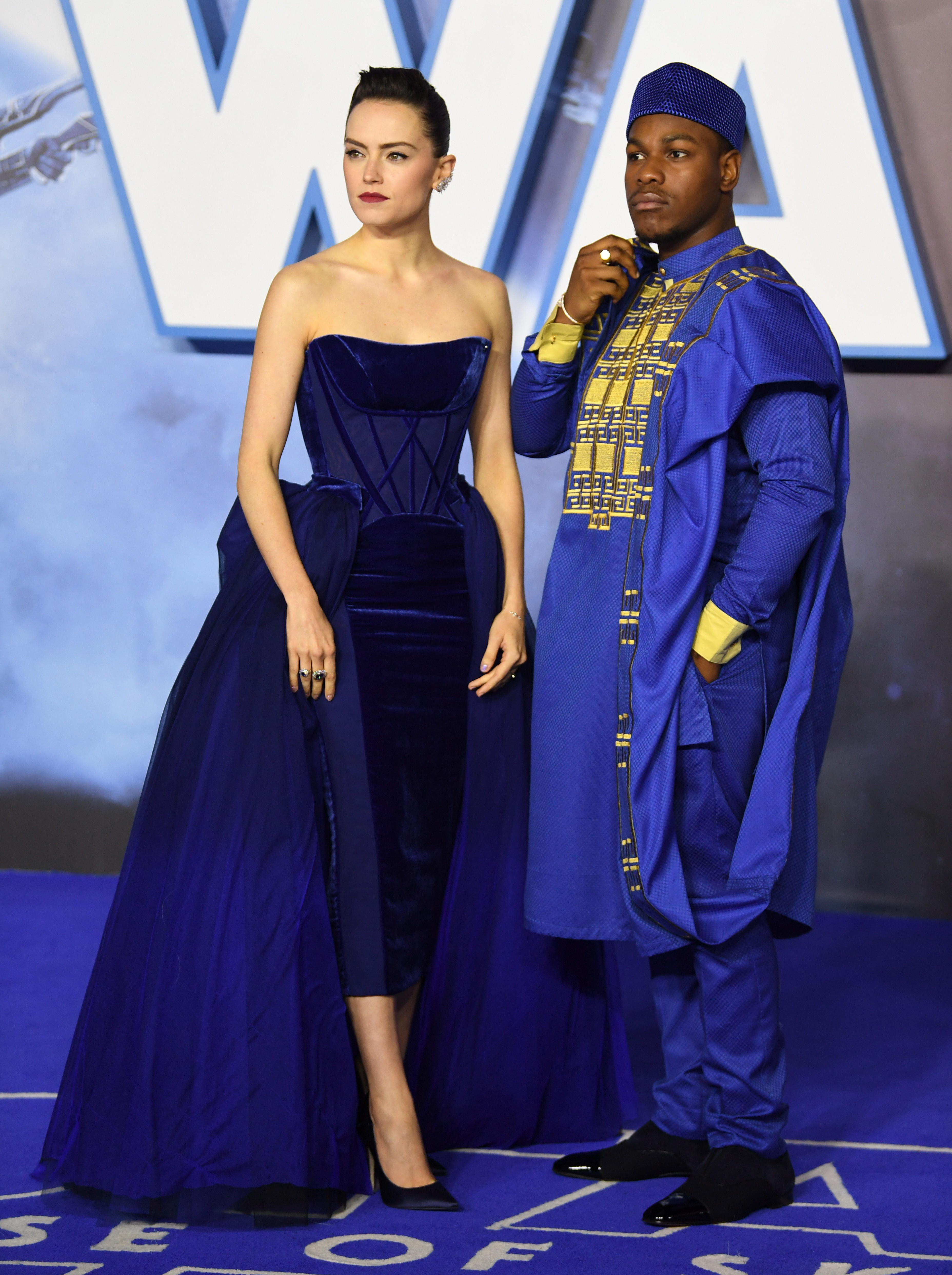 Star Wars The Rise Of Skywalker Premiere Daisy Ridley John Boyega And Kelly Marie Tran Dazzle On The Red Carpet In London South China Morning Post
