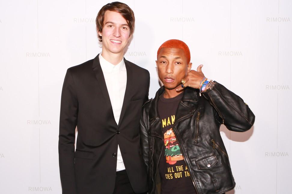 Alexandre Arnault and Pharrell Williams. Photo: Sansho Scott/BFA.com