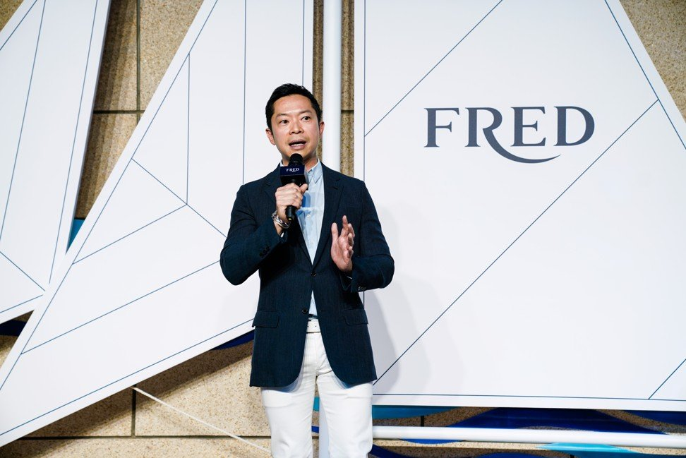 Charles Leung is head of heritage jewellery line Fred.