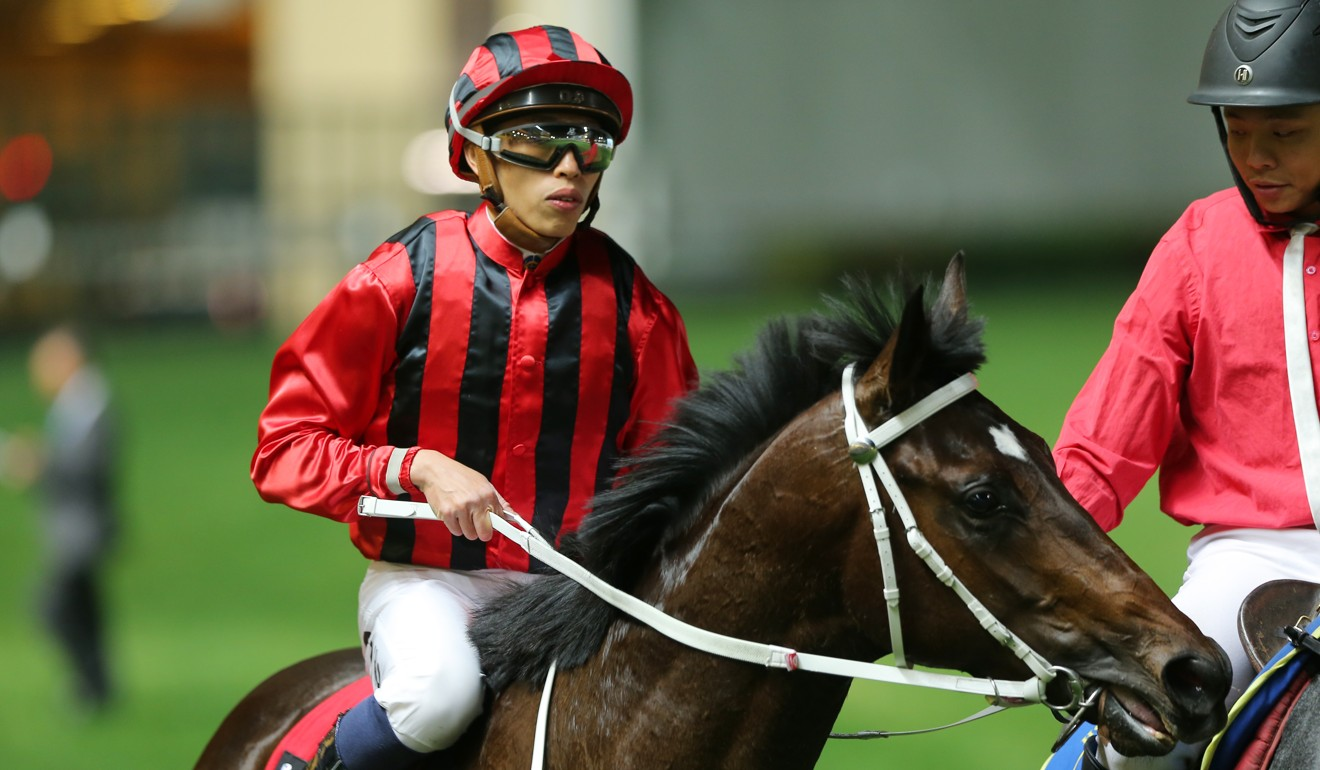 Vincent Ho on Private Secretary after winning at Happy Valley on Thursday night.