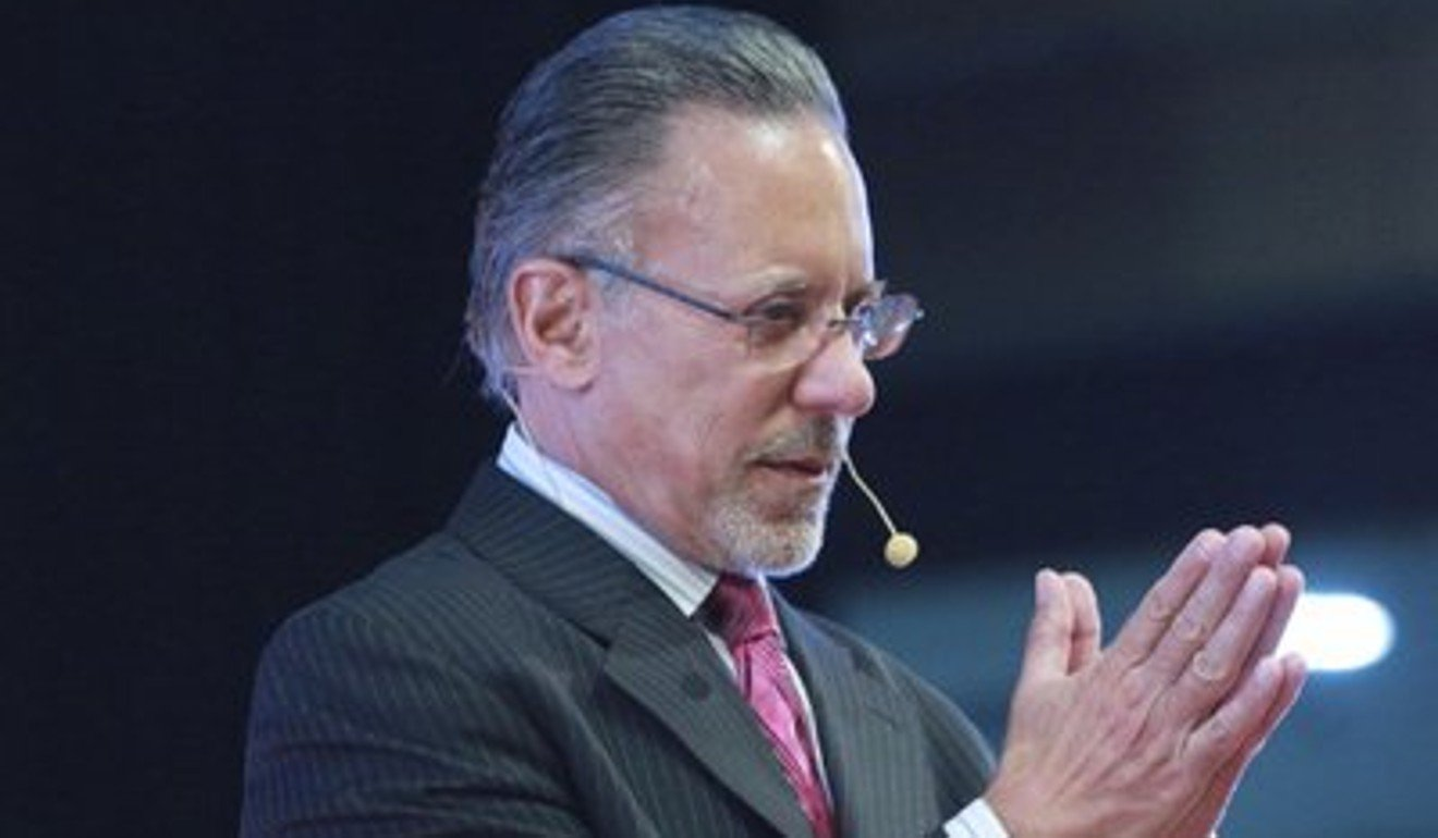 Marketing guru and motivational speaker Jay Abraham has an estimated net worth of US$10 billion. Photo: Handout