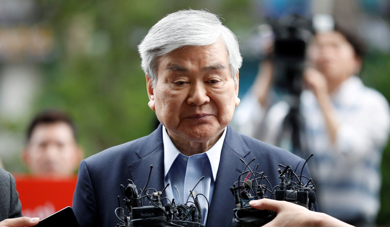 Cho Yang-ho, the late chairman of Hanjin Group. File photo: Reuters