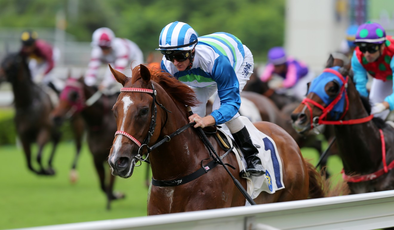 Joao Moreira is confident Voyage Warrior has more to give.