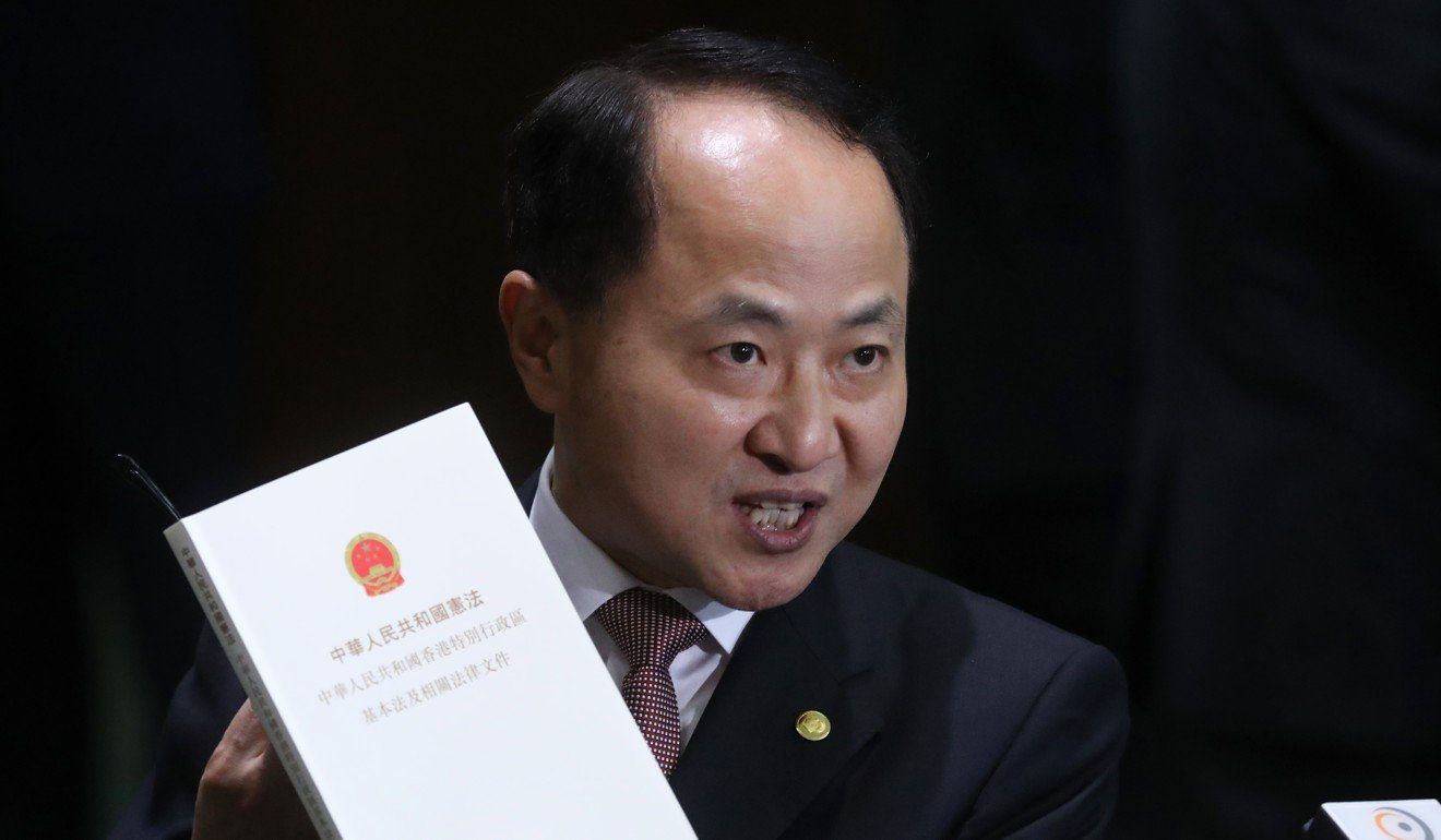 Wang Zhimin has been replaced as director of the central government's liaison office in Hong Kong. Photo: Sam Tsang