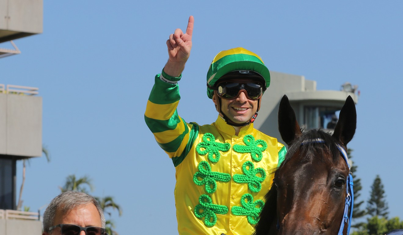 Umberto Rispoli wins at Sha Tin.