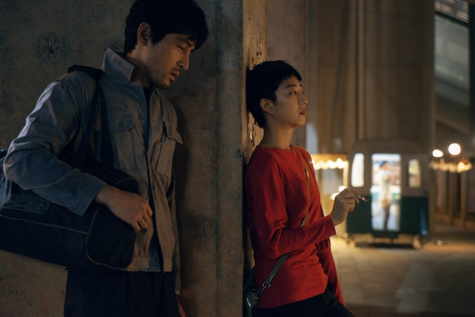 Hu Ge (left) and Gwei Lun-mei in a still from The Wild Goose Lake.