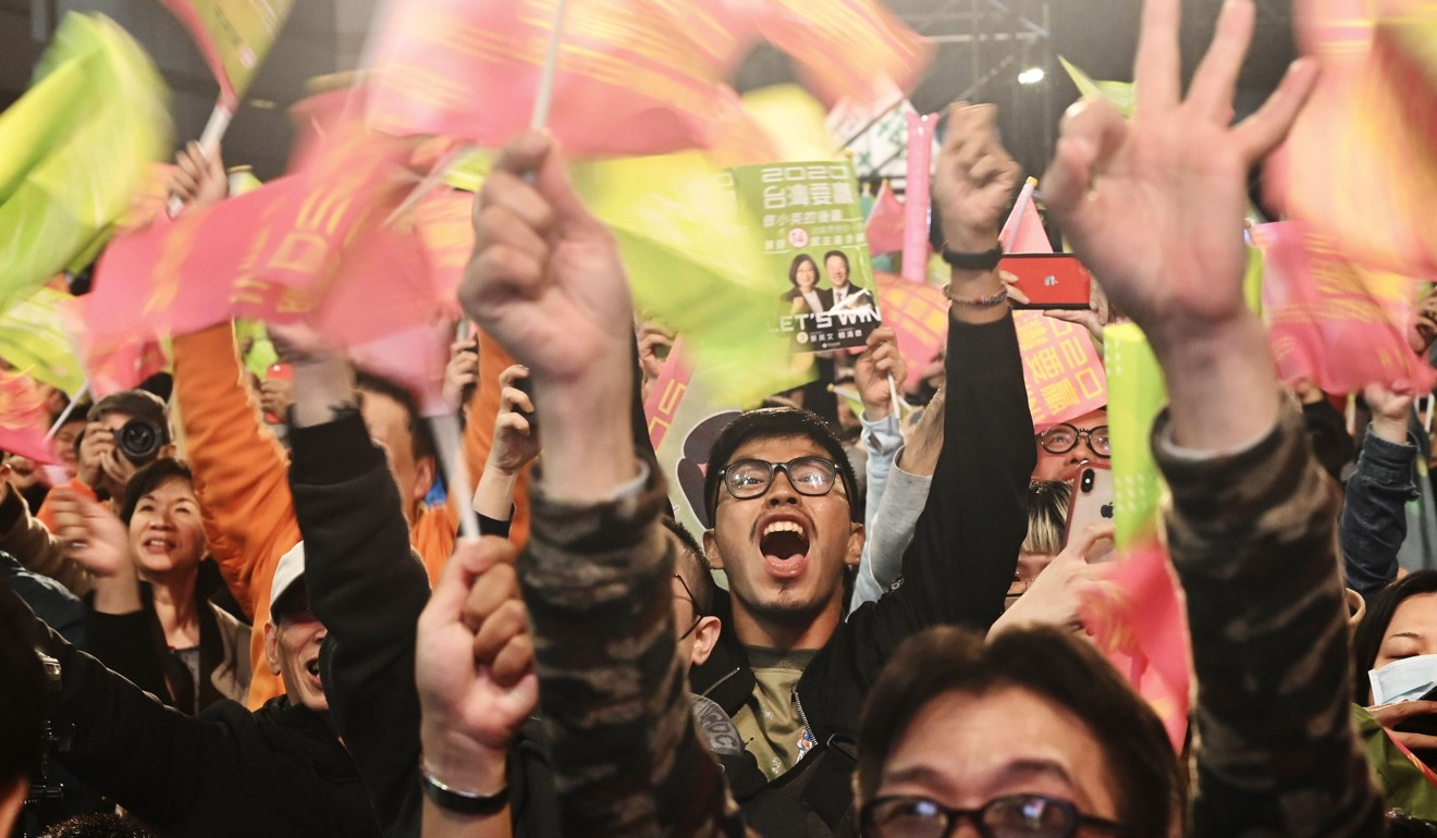 Taiwan elections: Tsai Ing-wen re-elected as president as rival Han Kuo-yu concedes defeat