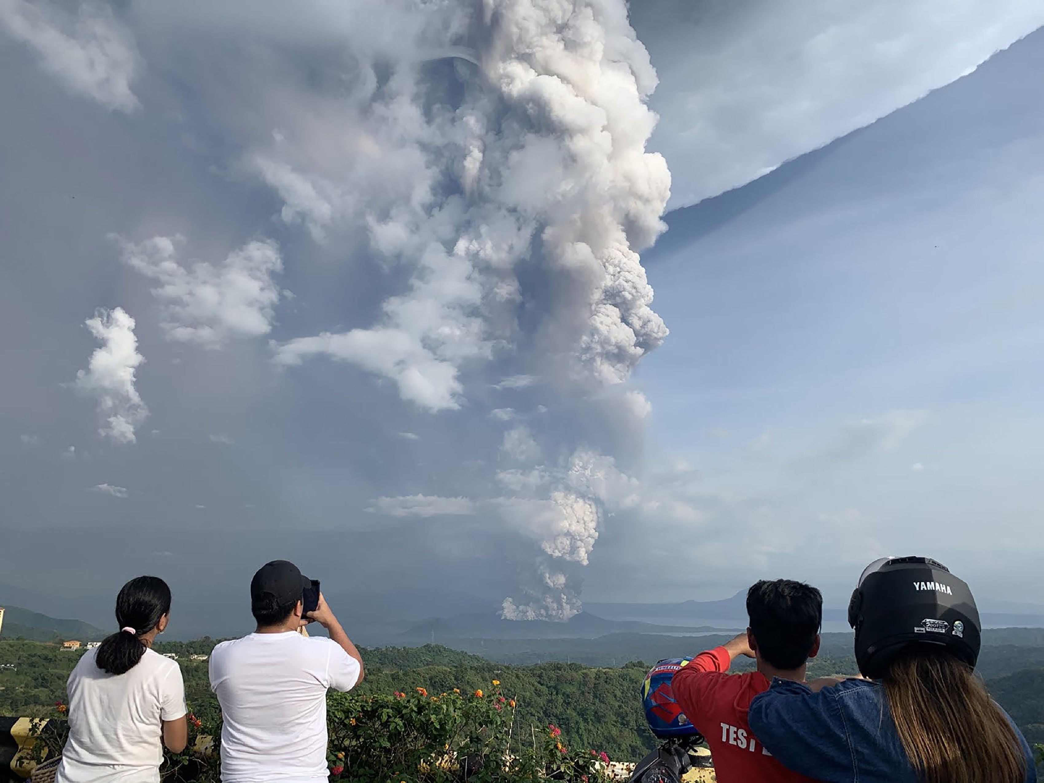 Image result for taal volcano eruption