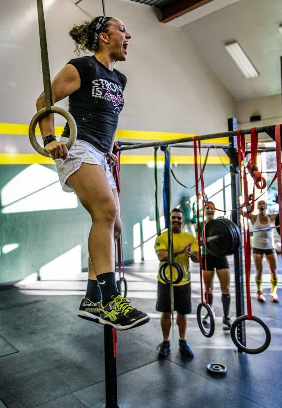 Kristine Best has qualified via the CrossFit Open. Photo: Facebook