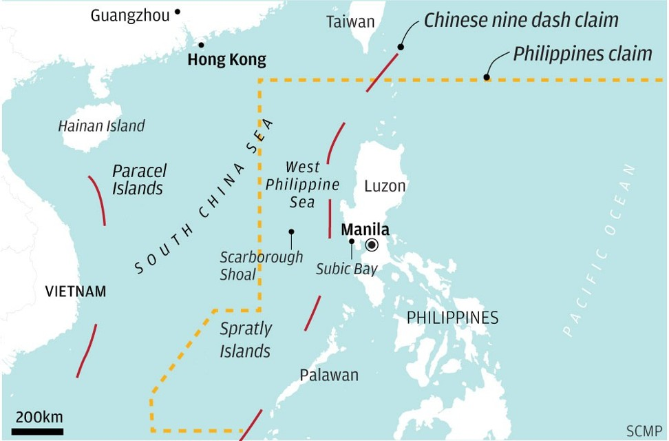 Overlapping claims in the South China Sea. Click to enlarge.