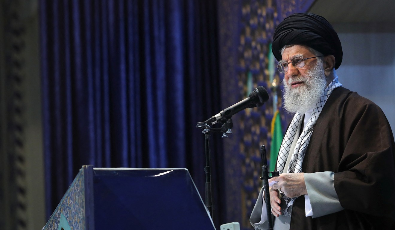 Trump says Iran's supreme leader Khamenei 'should be very careful with his words' after 'American clowns' insult