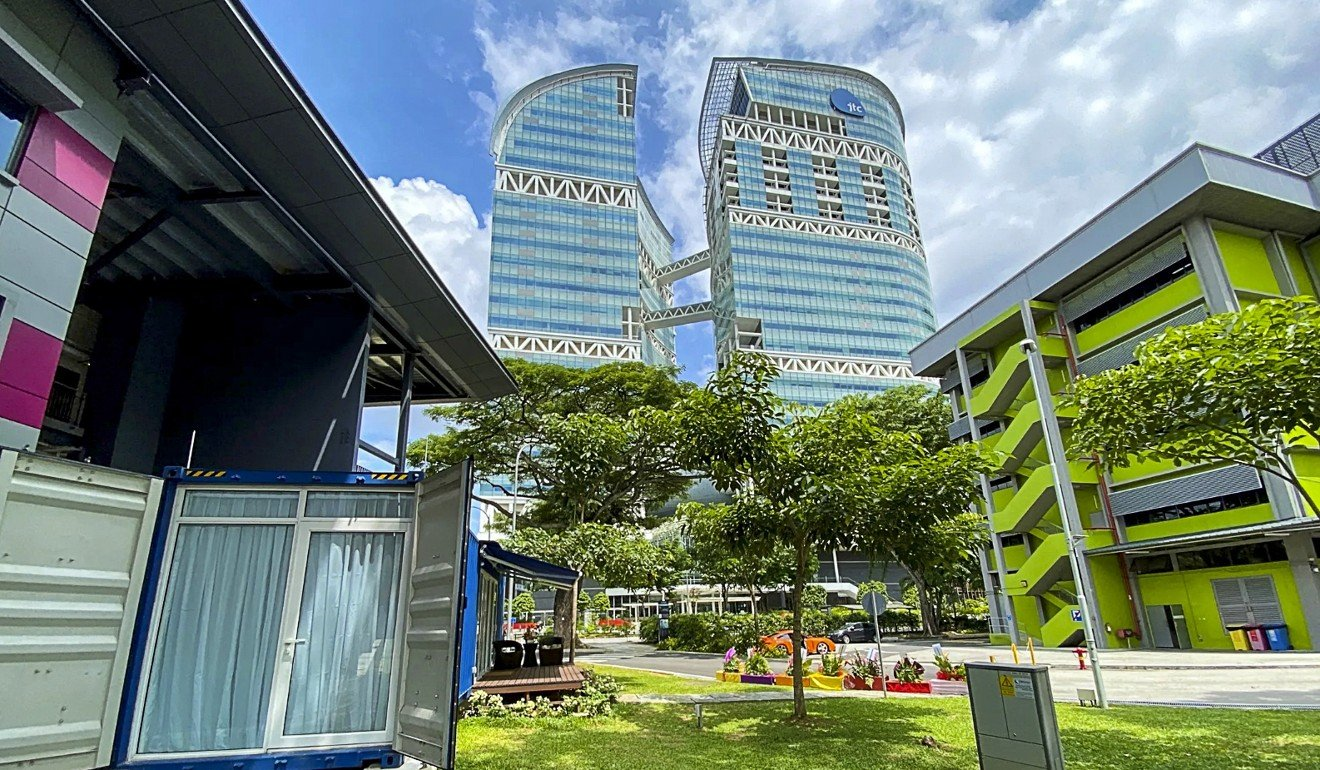 Think Hong Kong accommodation is expensive? In Singapore, a shipping container is $200 a night
