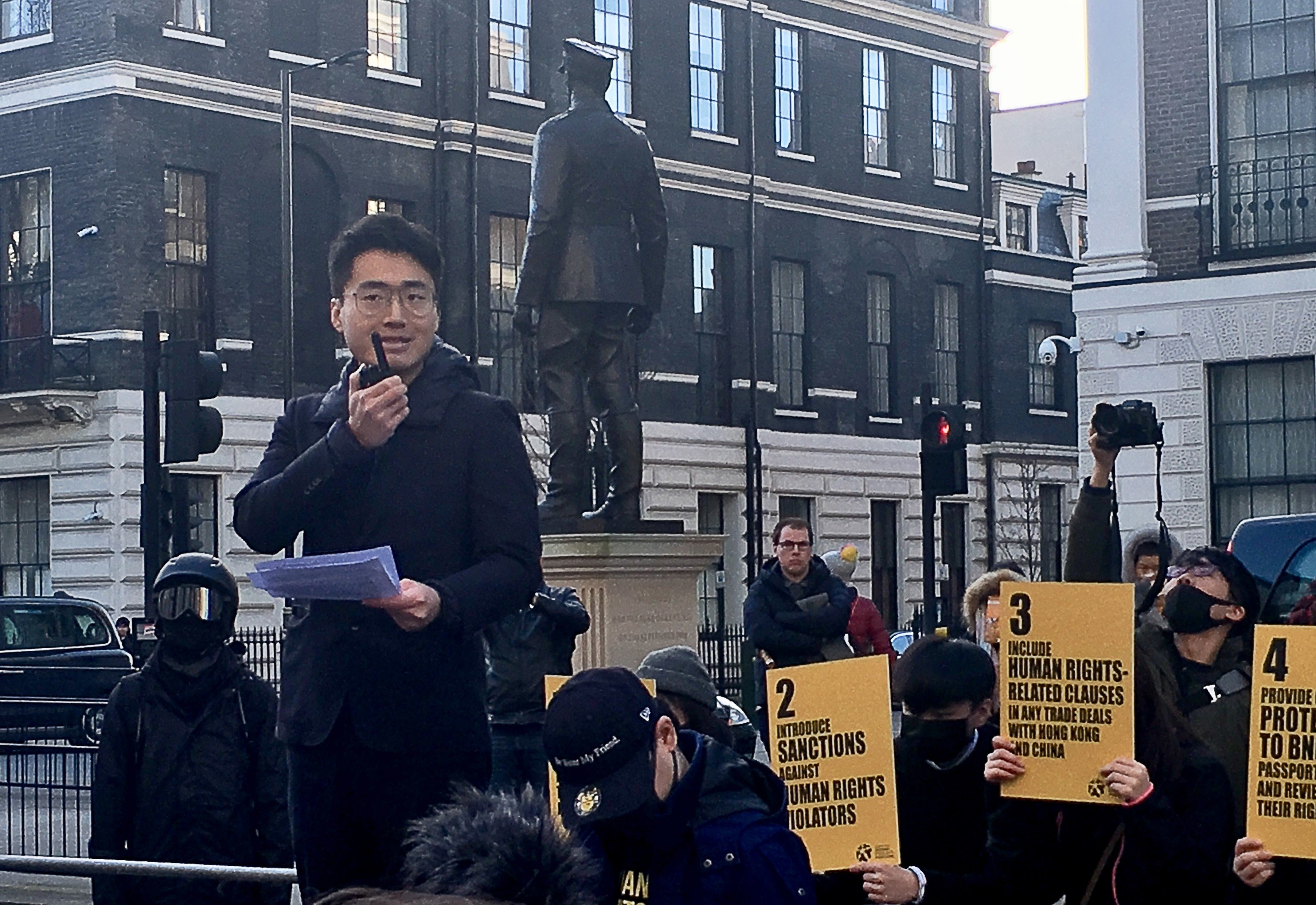 Simon Cheng: Hongkonger who was held in mainland China optimistic ...