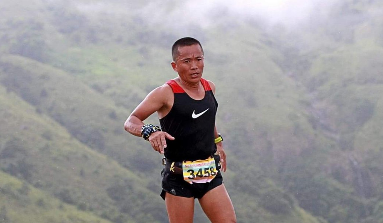 Nugo Yamanath Limbu loves long races because he feels no pressure. Photo: Running Biji