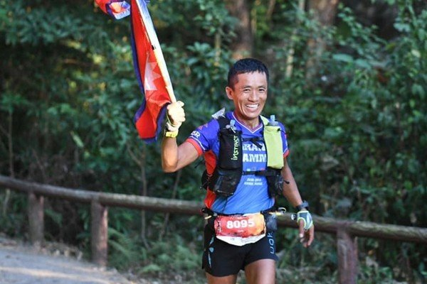 Nugo Yamanath Limbu wants to inspire other Nepalese people to run. Photo: Handout