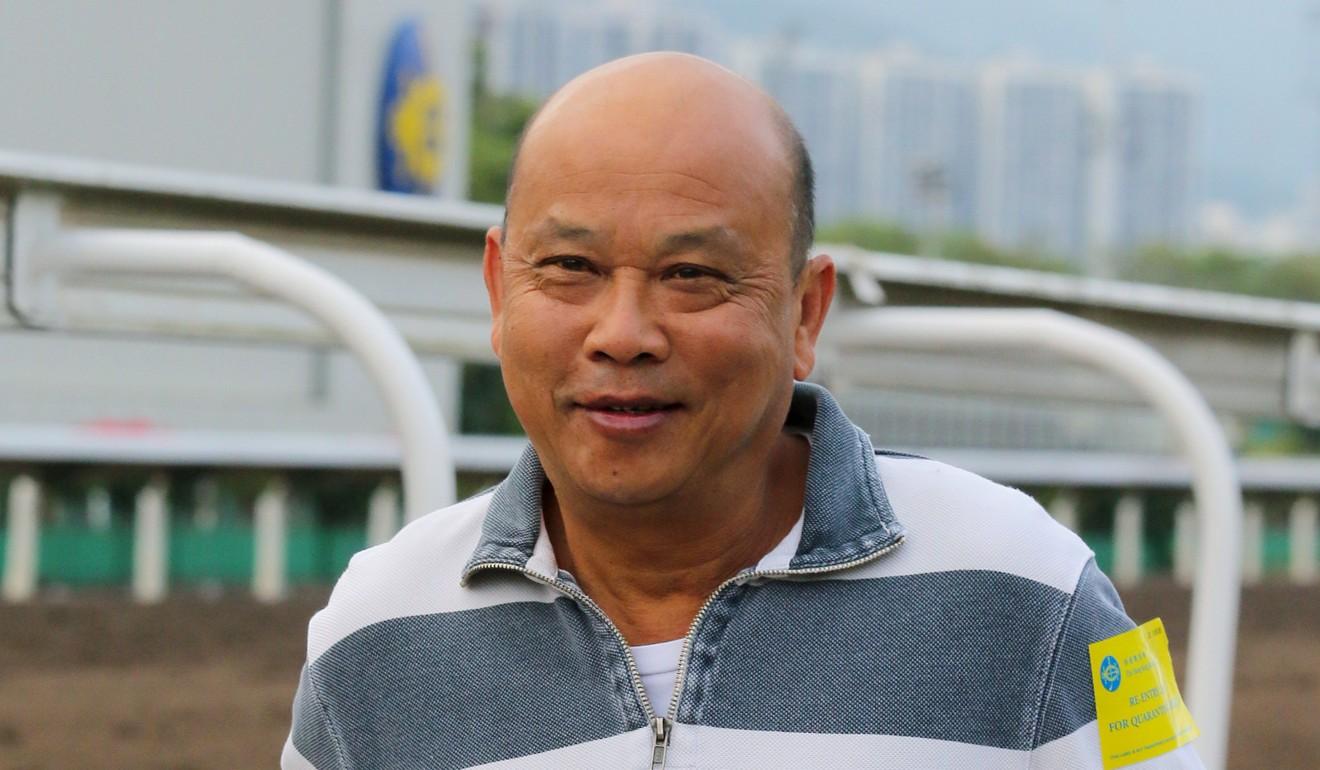 Veteran Macau trainer Joe Lau at Sha Tin.