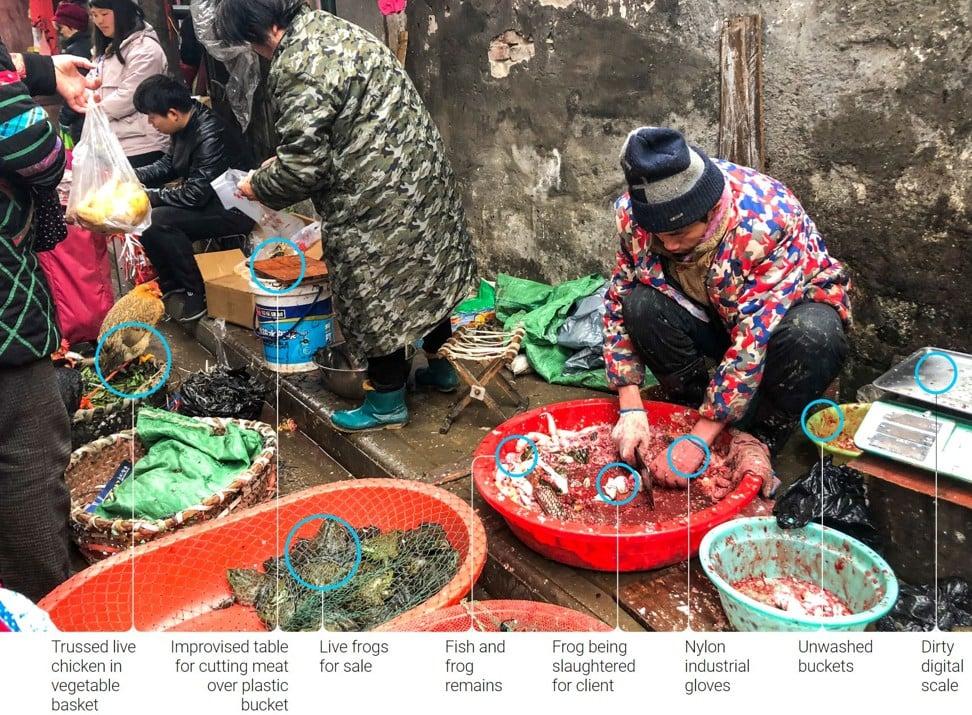 El mercado chino que fue cerrado