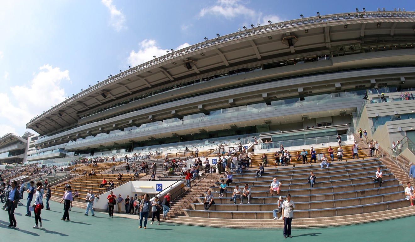 The Sha Tin stands will be barren on Monday.
