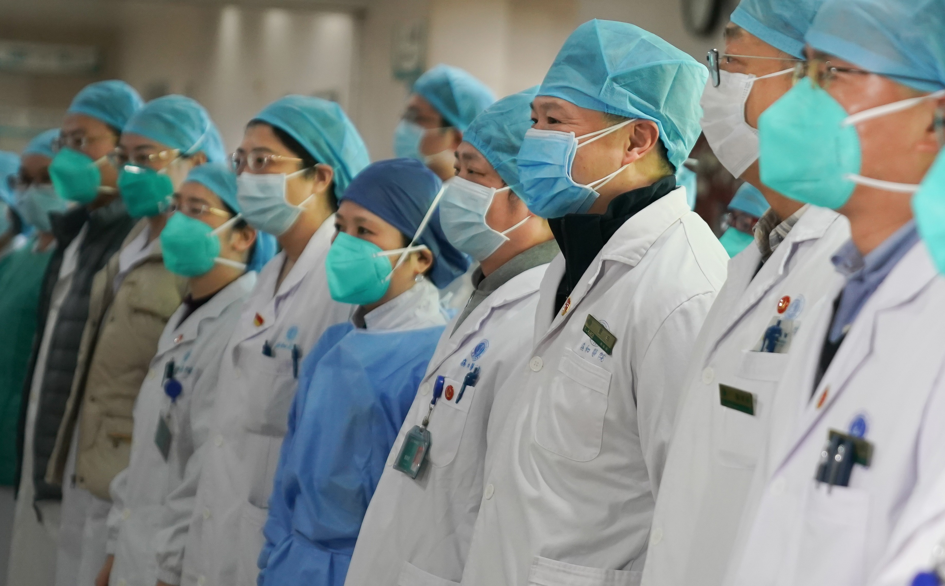 Money and medical staff pledged for Wuhan to help tackle China's ...