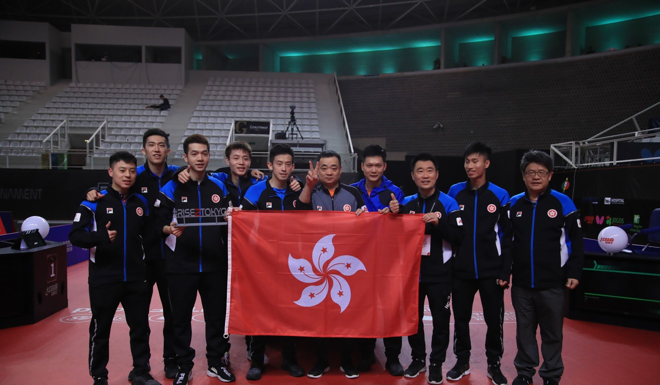 Tokyo 2020: Hong Kong men get last Olympic table tennis ticket in Portugal