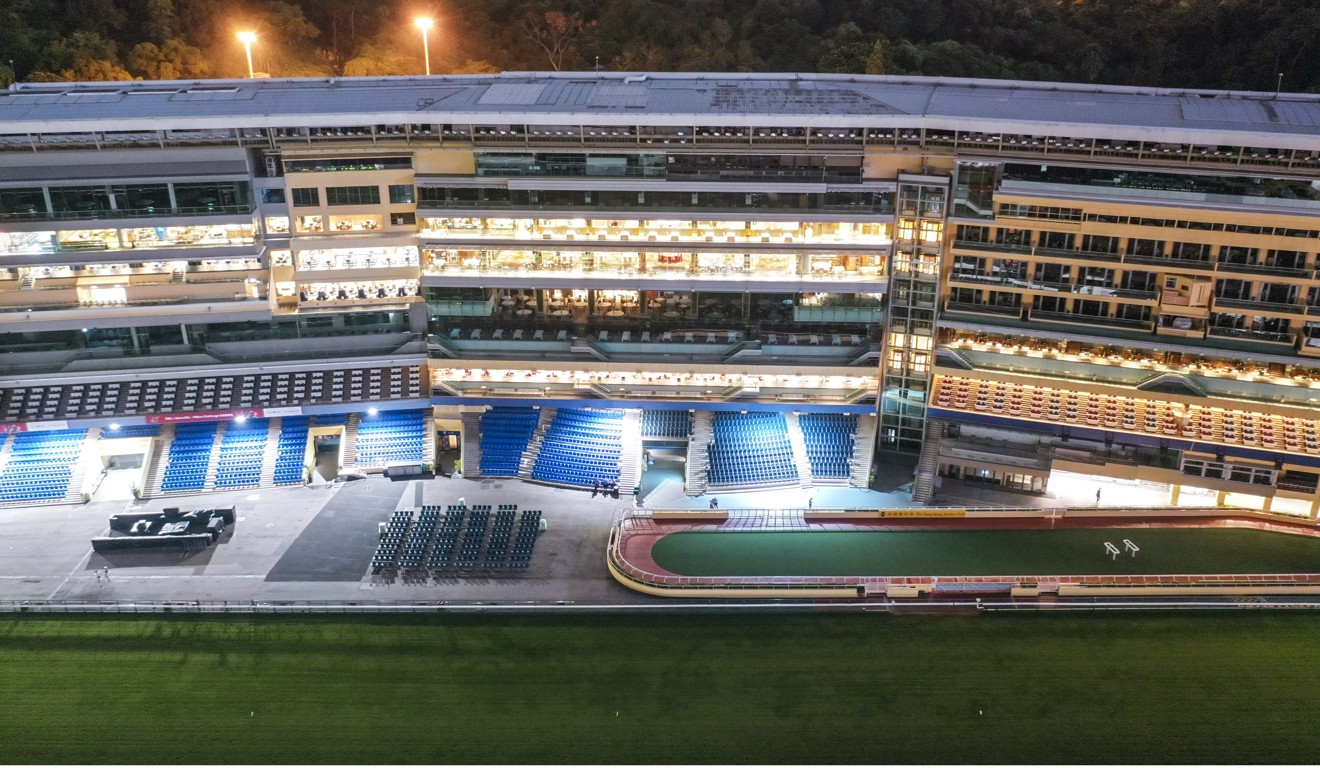 A deserted Happy Valley during the cancelled meeting in September. Photo: SCMP/Martin Chan