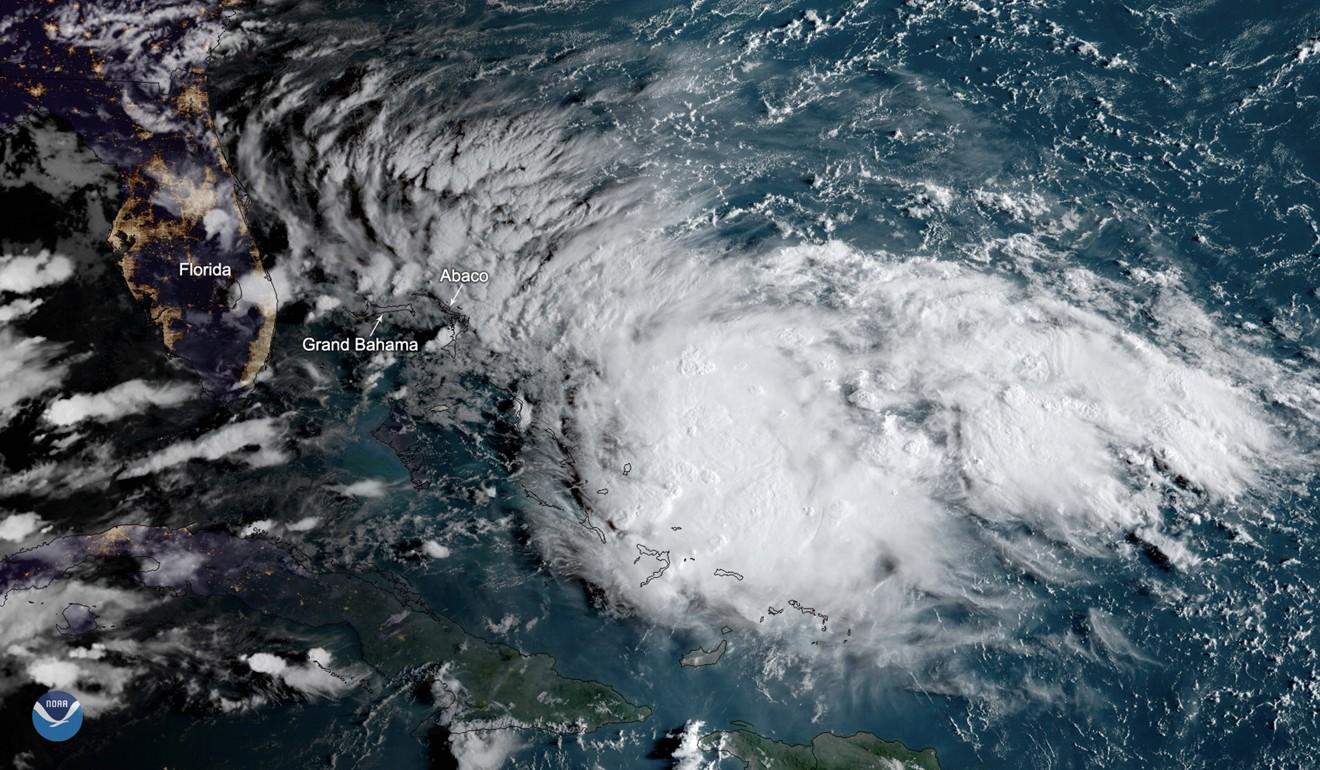 Hurricane Dorian devastated the Bahamas last year. Photo: EPA