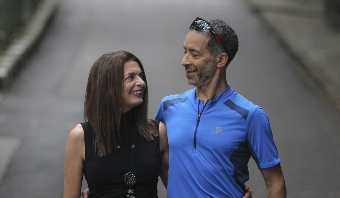 Janine Canham and her partner Mo Devlin.