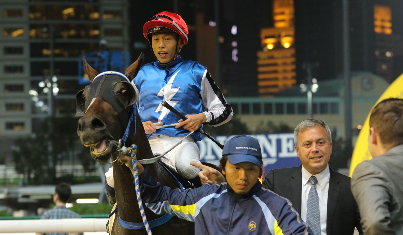 Caspar Fownes leads Naboo Star back after winning at Happy Valley.