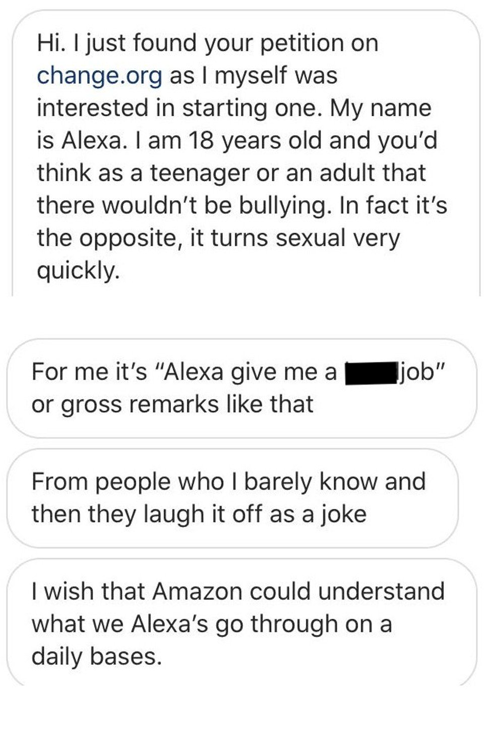 When A Bot Shares Your Name How Amazon Made Girls Called Alexa A