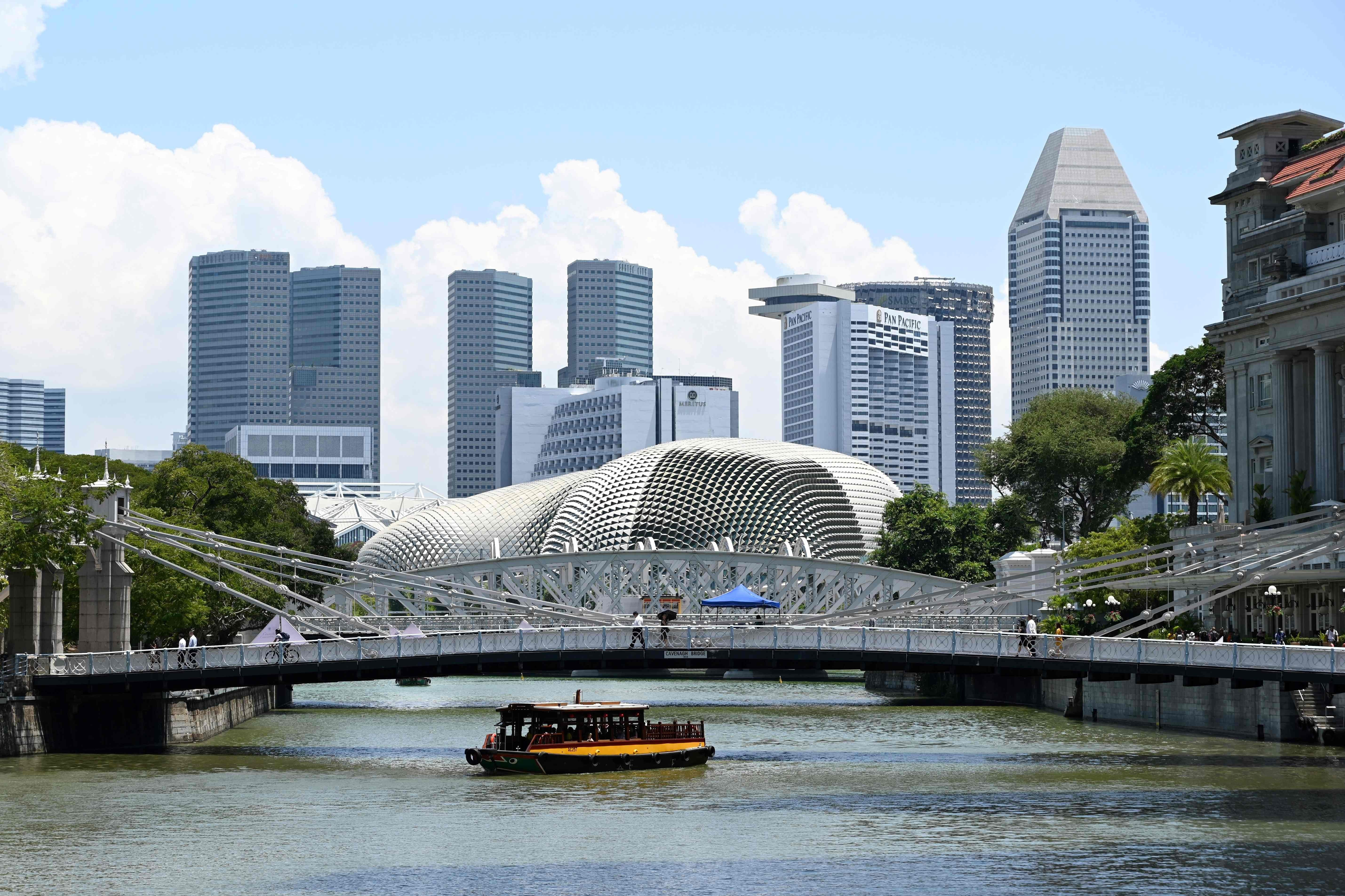 Singapore Dollar Falls After Currency
