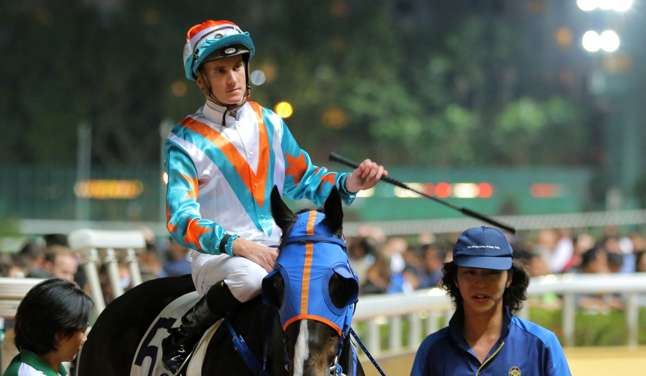 Chad Schofield returns on What A Legend after winning at Happy Valley.